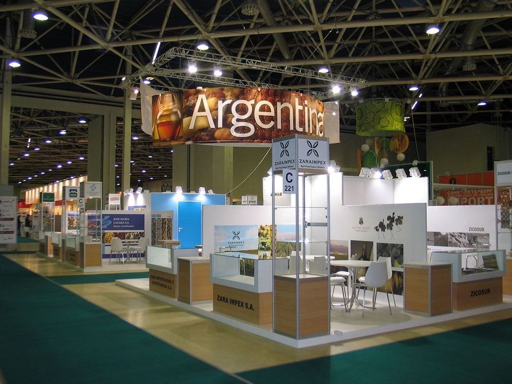 Exhibition Stand For Zara : Portfolio argentina 2012